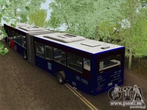 Remorque pour Design X 3 pour GTA San Andreas sur la vue arrière gauche