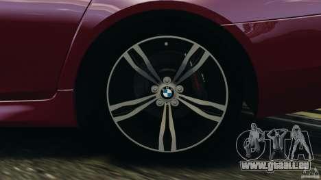 BMW M5 2012 pour GTA 4 Salon
