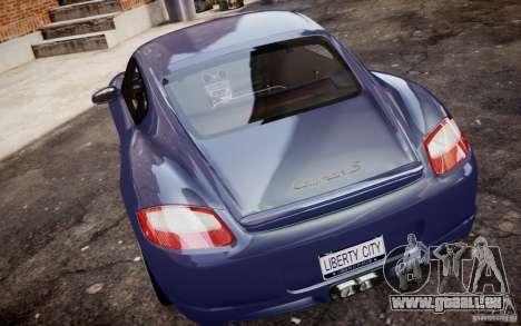 Porsche Cayman S 2006 EPM pour GTA 4 est un droit