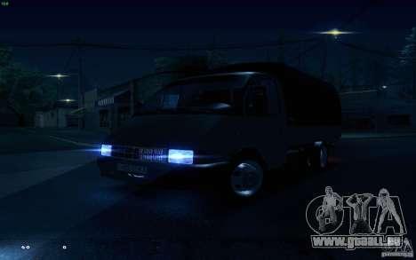Gazelle 33021 für GTA San Andreas Seitenansicht