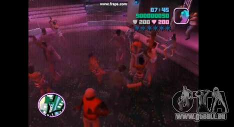 Danse mod pour gta vice city pour GTA Vice City cinquième écran