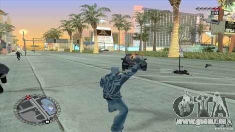 Ultra-modernes HUD für GTA San Andreas fünften Screenshot