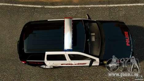 Jeep Grand Cherokee SRT8 2008 Police [ELS] pour GTA 4 est un droit