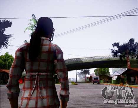 Serena Valdivia pour GTA San Andreas deuxième écran