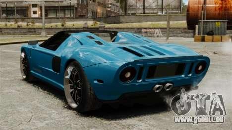 Ford GTX1 2006 für GTA 4 hinten links Ansicht