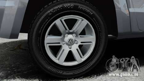 Volkswagen Amarok TDI pour GTA 4 Vue arrière