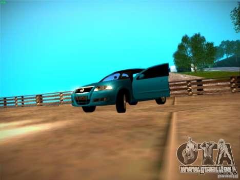 Nissan Almera Classic pour GTA San Andreas laissé vue