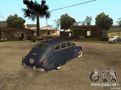 Cadillac 61 1941 pour GTA San Andreas laissé vue