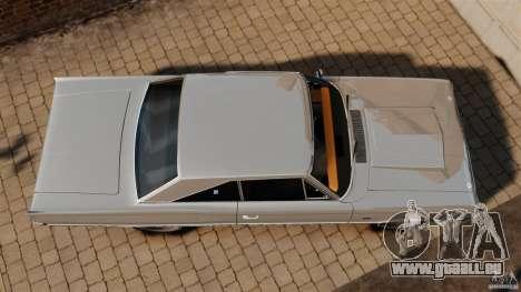 Dodge Coronet 1967 pour GTA 4 est un droit