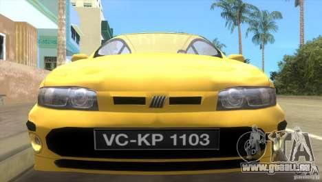 Fiat Bravo pour une vue GTA Vice City de la droite