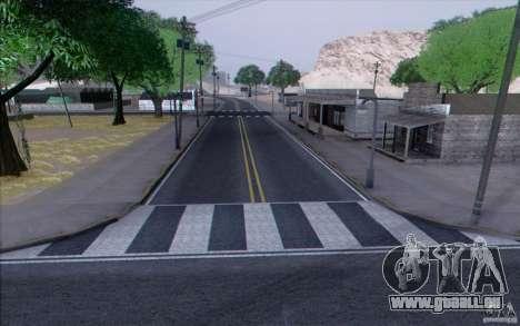 HD Road v3. 0 für GTA San Andreas achten Screenshot