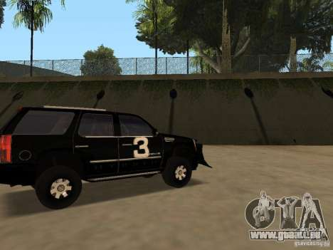 Cadillac Escalade Tallahassee für GTA San Andreas linke Ansicht