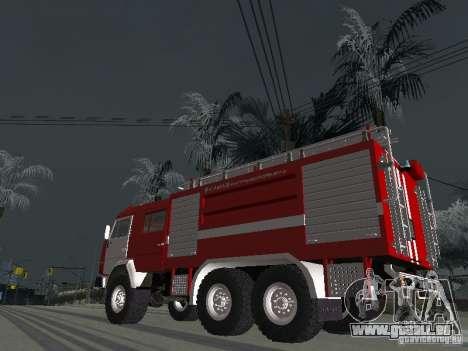 KAMAZ 43118 AC-7 für GTA San Andreas linke Ansicht