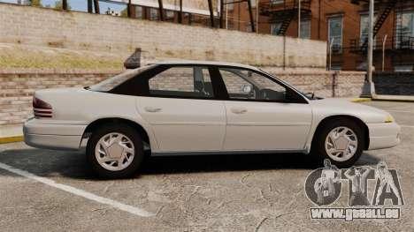 Dodge Intrepid 1993 Civil pour GTA 4 est une gauche