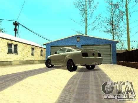 Ford Mustang GT für GTA San Andreas zurück linke Ansicht