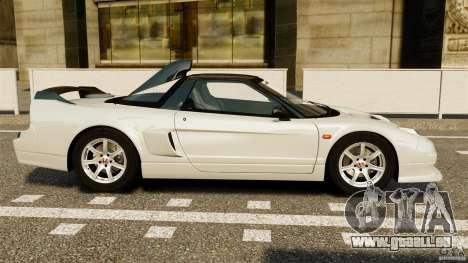 Honda NSX-R GT für GTA 4 linke Ansicht