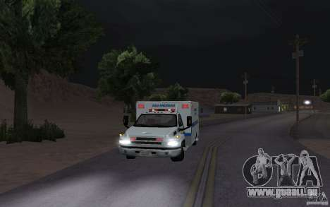 Chevrolet C4500 Ambulance für GTA San Andreas linke Ansicht