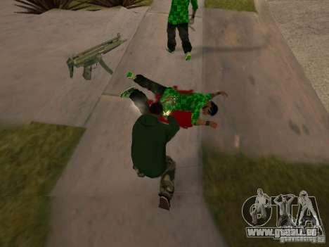 Utilisation d'entrepôt votre gang pour GTA San Andreas cinquième écran