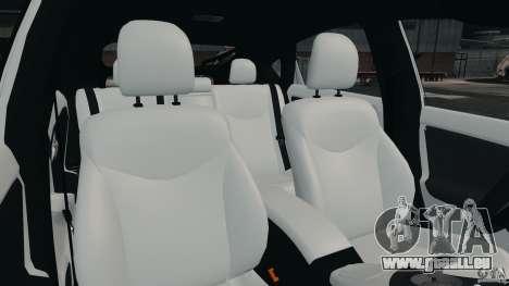 Toyota Prius NY Airport Service pour GTA 4 est une vue de l'intérieur