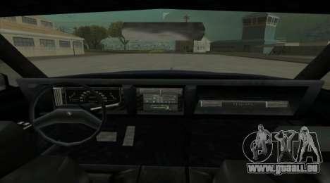 New Majestic pour GTA San Andreas sur la vue arrière gauche