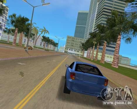 Toyota Celica 2JZ GTE schwarz Revel für GTA Vice City rechten Ansicht