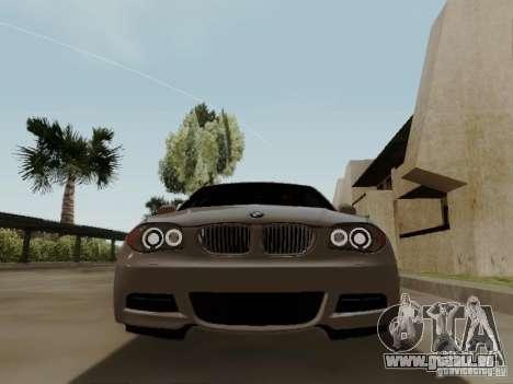 BMW 135i für GTA San Andreas Innenansicht