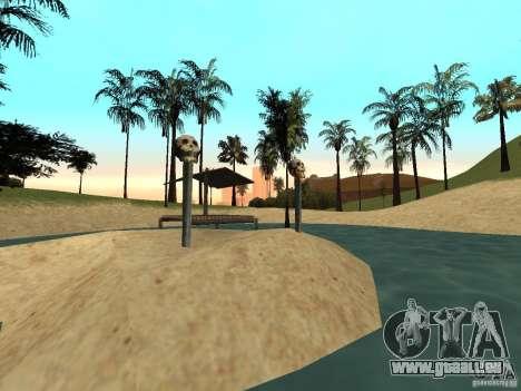 Volcano pour GTA San Andreas deuxième écran