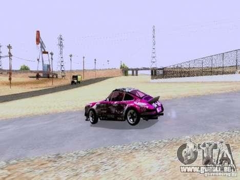Porsche 911 Pink Power pour GTA San Andreas vue de droite