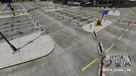Dérive-piste à l'aéroport pour GTA 4