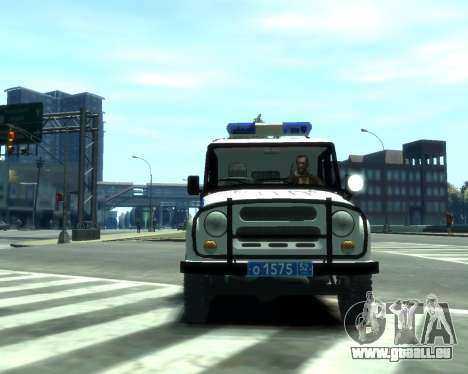 UAZ 31512 Polizei für GTA 4 linke Ansicht