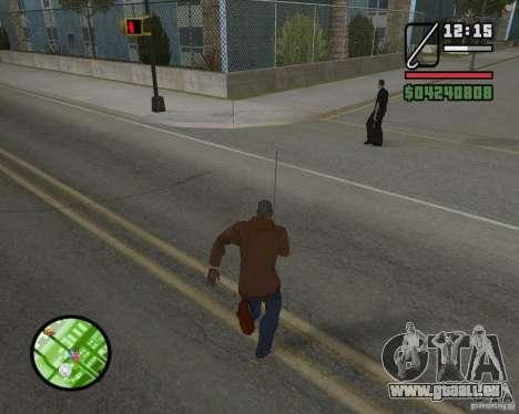 Nouveau HUD pour GTA San Andreas cinquième écran
