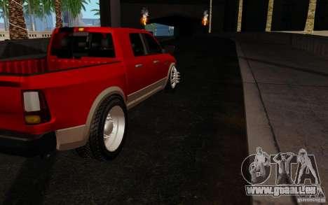 Dodge Ram 3500 Tuning für GTA San Andreas rechten Ansicht