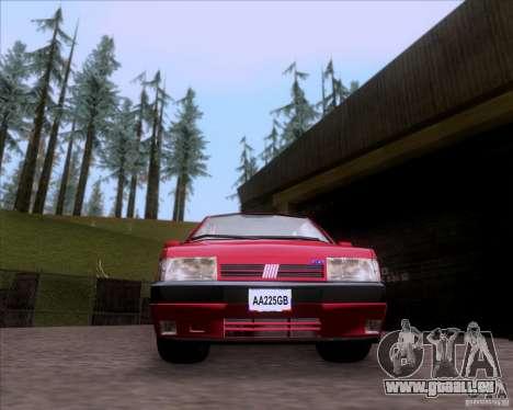 Fiat Tempra 1998 Tuning für GTA San Andreas zurück linke Ansicht
