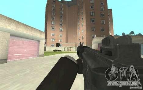 Nouvelle animation de GTA IV pour GTA San Andreas troisième écran