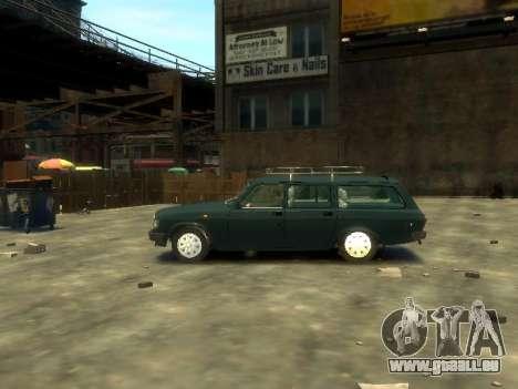 GAZ 310221 Wagon pour GTA 4 est une gauche