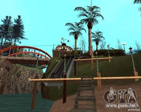 Villa in der Fischerei-Lagune für GTA San Andreas neunten Screenshot