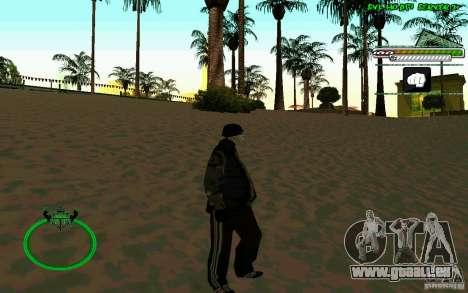 Bomje & Gop pour GTA San Andreas troisième écran