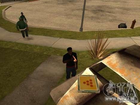 CJ affamé v. 3 final pour GTA San Andreas deuxième écran