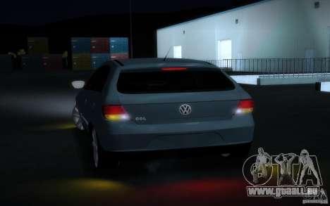 Volkswagen Golf G5 pour GTA San Andreas vue arrière