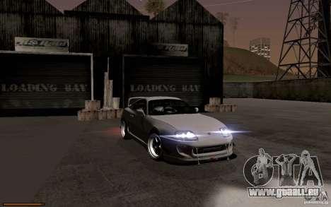 Toyota Supra D1 1998 pour GTA San Andreas vue de côté