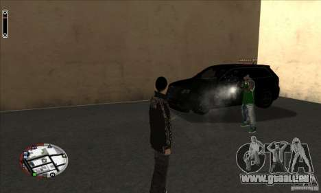 GodPlayer v1.0 for SAMP für GTA San Andreas zweiten Screenshot