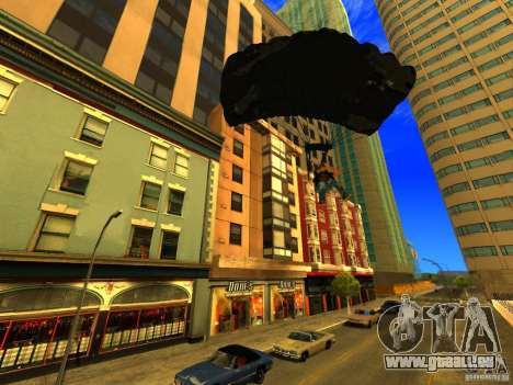 Global Parachute Mod für GTA San Andreas her Screenshot