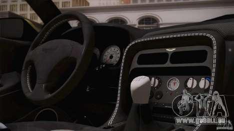Aston Martin DB7 Zagato 2003 pour GTA San Andreas roue