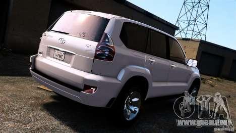 Toyota Land Cruiser Prado für GTA 4 rechte Ansicht