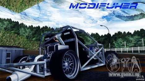 Mazda MX-5 Tube Frame pour GTA San Andreas vue de droite