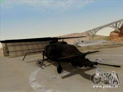 RQ-50 Hammerhead für GTA San Andreas