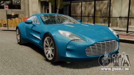 Aston Martin One-77 für GTA 4