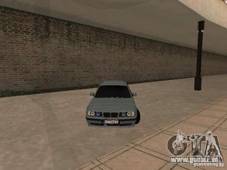 BMW E34 540i V8 pour GTA San Andreas