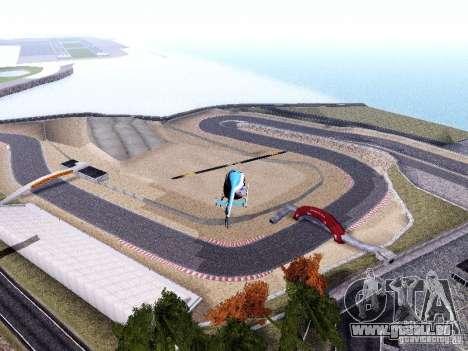 Laguna Seca Raceway für GTA San Andreas