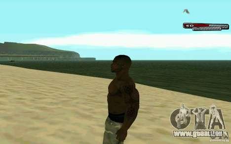 James Woods HD Skin pour GTA San Andreas deuxième écran